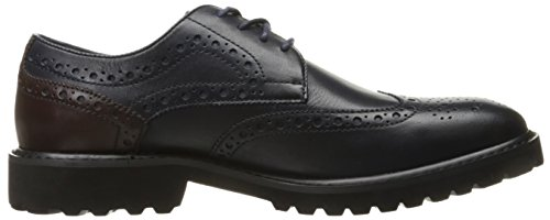 Steve Madden Mens Marlen Oxford Navy