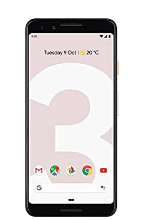Google Pixel 3 (Not Pink, 64 GB) (4 GB RAM) Smartphones at amazon