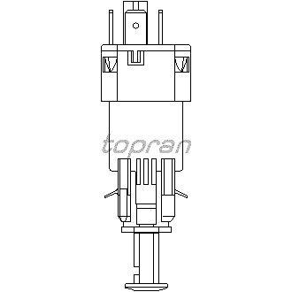 TOPRAN 206 844 Bremslichtschalter