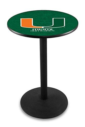 Holland Bar Stool L214B University Miami (Fl) Officially Licensed Pub Table, 28