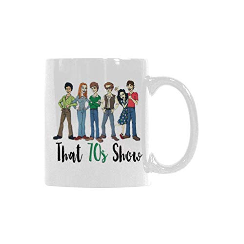 Coffee Lover That 70s Show Mug - 11 Ounce - Christmas, Birthday, Wedding, Graduation, Valentine's Day Gift