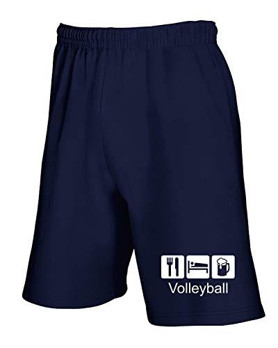 T1079 Volleyball T Navy Blu Tuta shirtshock Pantaloncini Sport qqwxFS