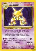 Alakazam Pokemon Card - Pokemon - Alakazam (1/102) - Base Set - Holo