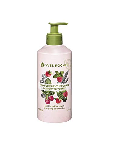 - Yves Rocher Les Plaisirs Nature Energizing Body Lotion Raspberry Peppermint (13.1 fl.oz)