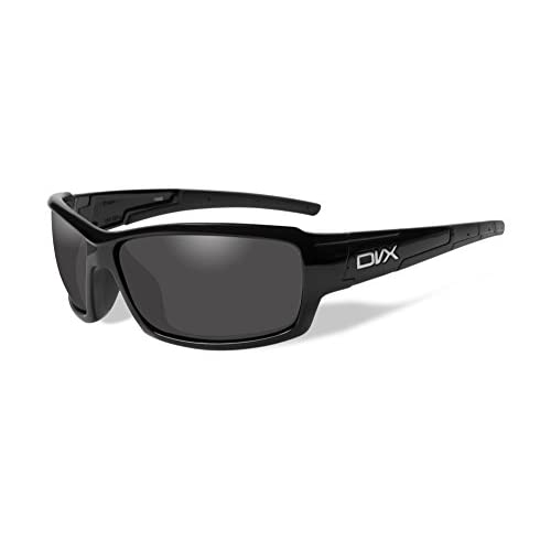 e606ad4a273f outlet DVX by Wiley X - NOISE- SUN & SAFETY GLASSES- POLARIZED GREY ...