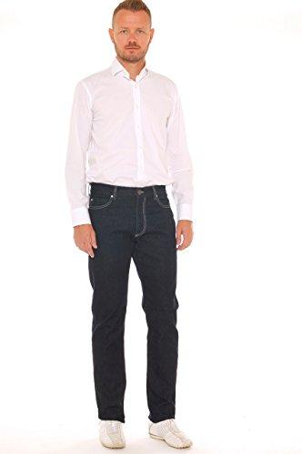 Foncé Vie Jeans Haute Homme Stretch Bleu Nuit Coton En Denim 6qwAx0qB