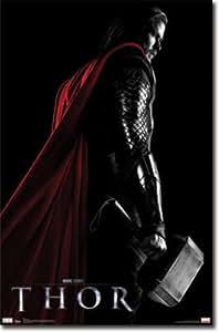 Thor Movie Chris Hemsworth Poster Print - 22x34 Poster Print, 22x34