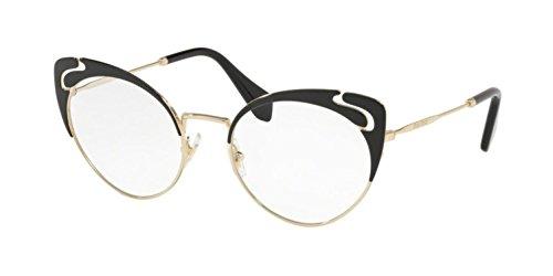 Miu Miu Noir Evolution VMU 50R Black 52/19/140 Women Eyewear ()