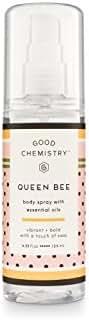 Queen Bee by Good Chemistry Body Mist Women's Body Spray - 4.25 fl oz.