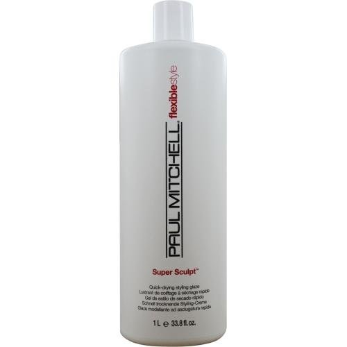Paul Mitchell Super Sculpt Quick-Drying Styling Glaze Gel for Unisex, 33.8 Ounce (Mitchell Paul Sculpt Glaze Super)