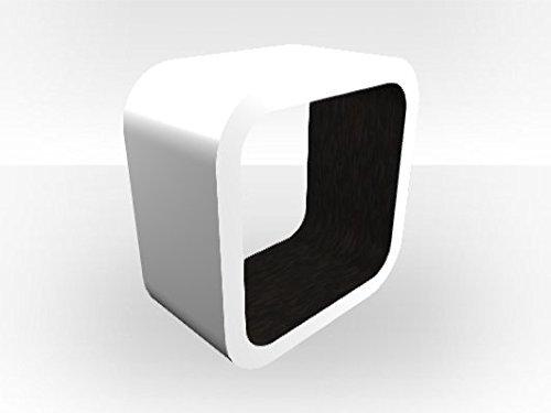 Zespoke White Outer Cube Aquarium Stand - Wenge Matt Inner