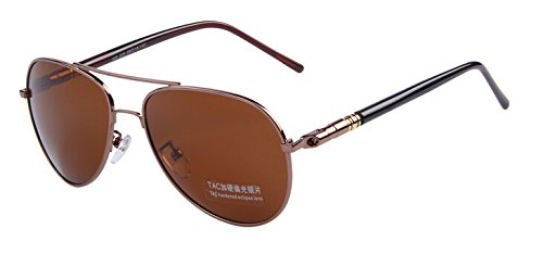 Brown C04 noche TIANLIANG04 conducción lo Por C07 Multicolor sol tanto polarizadas hombres de gafas Oculos verano plateada OaZOq
