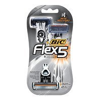 BIC Flex 5 Men's Disposable Shaver, 3 ea - 2pc by BIC