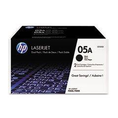 HP 05A Original Toner Cartridge - Dual Pack (Hp 05a Printer Cartridge)