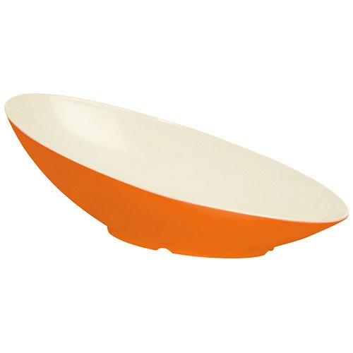 Enterprises B-797-ST Sunset 1.Qt G.E.T Melamine Oval Cascading Bowl Keywest