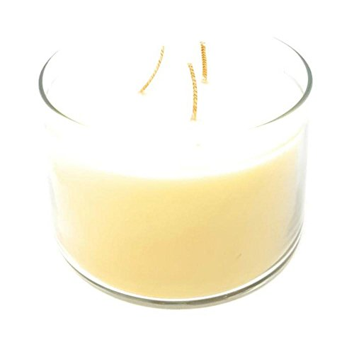 Long-burning Scented Jar Candle, (Lemon Melon Mint), 32 OZ Three-Wick Glass Jar, by PartyLite Three Wick Glass