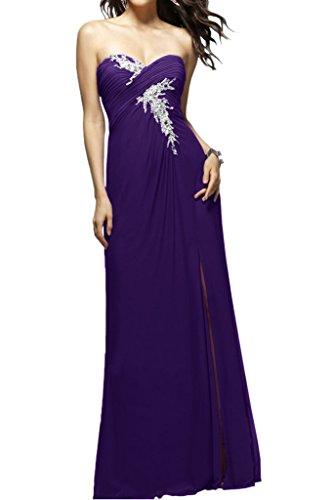Ivydressing - Robe - Trapèze - Femme -  violet - 2 mois