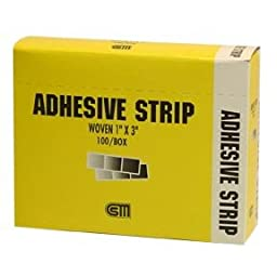 Certified Safety Certi Strip Woven Bandages, 1\
