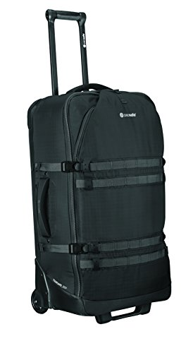 Pacsafe Toursafe EXP29 Anti-Theft Wheeled Gear Bag, Black by Pacsafe