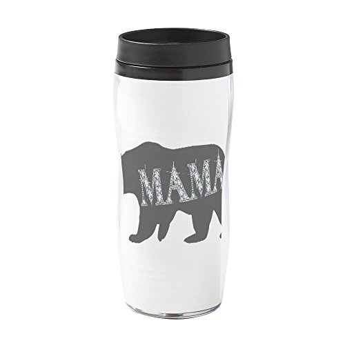 - CafePress - Mama Bear Blk - 16 oz Travel Mug