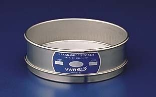Advantech Manufacturing Lab - ADVANTECH MANUFACTURING 400SS8H Stainless Steel Frame Wire Cloth Test Sieve, 8