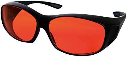 レーザ保護眼鏡 RSX-4/AR ●適用波長範囲:400~515nm●光学濃度(OD値):6