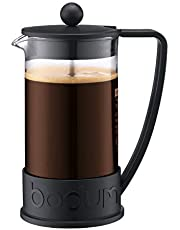 Bodum Coffee Maker Brazil French Press, Black, 10938-01