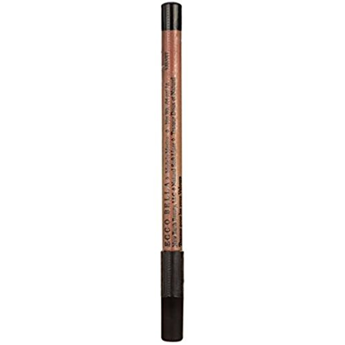 Ecco Bella FlowerColor Velvet Natural Soft Eyeliner Pencil. Preservative Free. Gluten Free. Vegan. Vegetable Waxes. - Perfect for Sensitive Eyes.  .04 Ounce - 0.04 Ounce Eyeliner Pencil