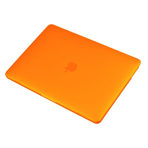 UESWILL MacBook Pro 13 inch Case 2018 & 2017 & 2016 Release, A1989/A1706/A1708, Matte Hard Case Cover for Newest MacBook Pro 13 inch with/Without Touch Bar Touch ID, Orange by UESWILL (Image #3)