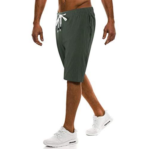 Hommes Personnalisable Verte De Confortable Unie Armée Vêtements Couleur Short Douche Loisirs Moderne Fête Sports Dentelle Chatoyant Moule xpwXq