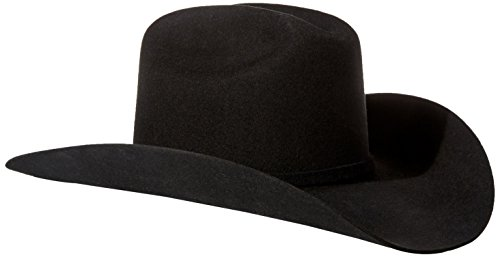 Stetson Men's 3X Oakridge Wool Cowboy Hat Black 6 7/8 [Apparel]