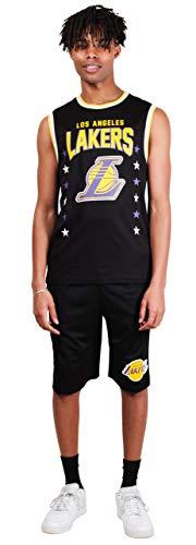 Ultra Game NBA Los Angeles Lakers Mens Woven Basketball Shorts ...