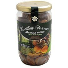 Whole Steamed and Peeled French Chestnuts Marrons, 14.8 ounce, Product of France