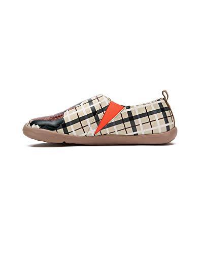 Beige Zapatos Scottish Microfibra Real La Para Hombres Adorable UIN A Moda qU56Bxq