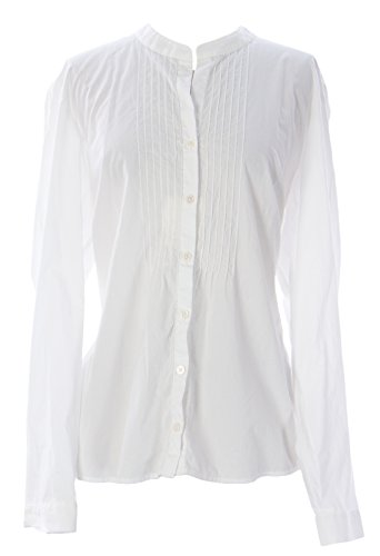 BODEN Women's Embroidered Front Blouse US Sz 18 White