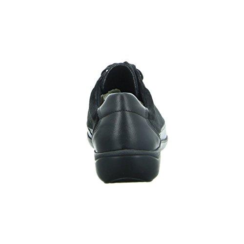ville Chaussures femme lacets Noir de LONGO à 1005670 pour w1n5xqvCt4