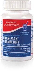 Anabolic Laboratories, Cran-max Cranberry Formula, 500mg, 30 Caps