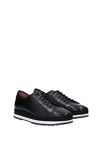 X3X017XC73500002 Armani Emporio Sneakers Mujer Piel Negro Negro