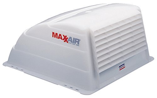 Half Vent (Maxx Air 00-933066 Original Vent Cover - White)
