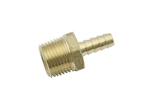 Generic  Brass BSP Barbed Fitting Coupler / Connector 1/2...