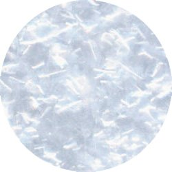 (White Edible Glitter Flakes by Ck Products 1 oz)