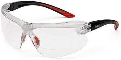 テンプルの傾き・ノーズピースの高さ・幅の調整が可能!! bolle safety(ボレーセーフティ) アイリス 保護メガネ クリアレンズ 1670001JP 〈簡易梱包