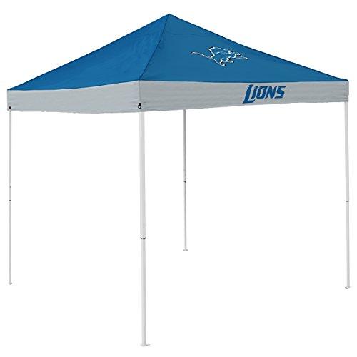 Logo Canopy - Logo Brands NFL Detroit Lions Economy Tent Economy Tent, Cobalt, One Size