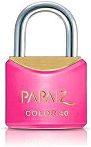 Cadeado Color Line, Papaiz, CR40, Rosa
