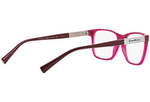 Giorgio Armani Montures de lunettes 7047H Pour Femme Black, 52mm 5286: Opal Purple