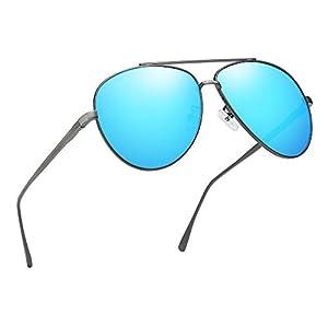 Premium Military Polarized Aviator Sunglasses Metal Frame Brand Unique Design Sun glasses For Mens Womens 100% UV Protection