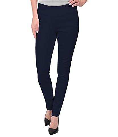 Super Comfy Stretch Pull On Millenium Pants KP44972 NAVY Xlarge (Petite Office Pants)