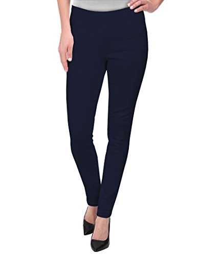 HyBrid & Company Super Comfy Stretch Pull On Millenium Pants KP44972 Navy 3X