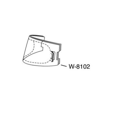 3M Replacement W-8102-25 Faceshield Cover Lenses, 25 EA/Case by Blastline USA