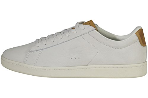 Lacoste Mens Carnaby Evo 317 1 Sneaker Off White